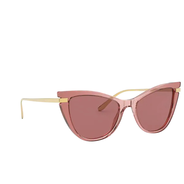 Dolce & Gabbana® Cat-eye Sunglasses: DG4381 color Pink Multilayer 326769.