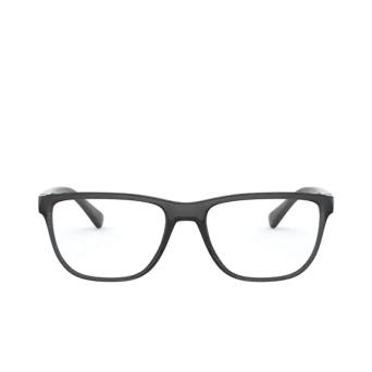 Dolce & Gabbana® Rectangle Eyeglasses: DG5053 color Transparent Grey / Black 3257.