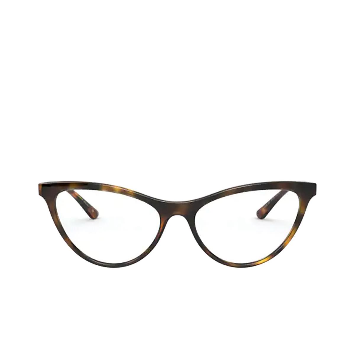 Dolce & Gabbana® Cat-eye Eyeglasses: DG5058 color Havana 502.
