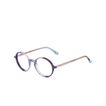 Etnia Barcelona® Round Eyeglasses: Babila color Pu.