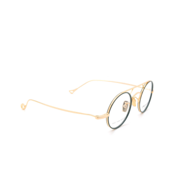 Eyepetizer® Round Eyeglasses: Adrien color Sage Green C.4-B.