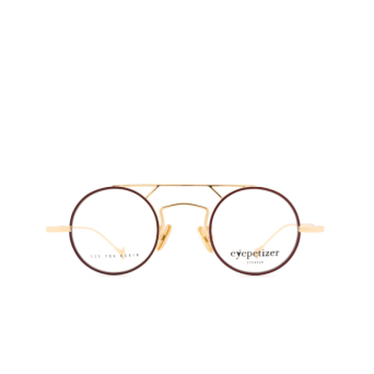 Eyepetizer® Round Eyeglasses: Adrien color Brown C.4-C.