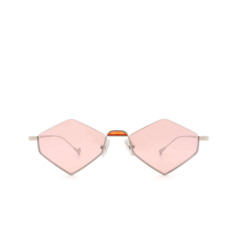 Eyepetizer® Irregular Sunglasses: Asakusa color Silver C.1-28F.