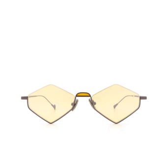 Eyepetizer® Irregular Sunglasses: Asakusa color Gunmetal C.3-24F.