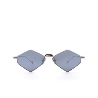 Eyepetizer® Irregular Sunglasses: Asakusa color Gunmetal C.3-7F.