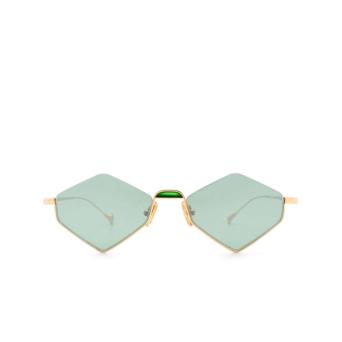 Eyepetizer® Irregular Sunglasses: Asakusa color Gold C.4-29F.
