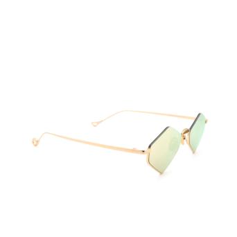 Eyepetizer® Irregular Sunglasses: Asakusa color Gold C.4-8C.