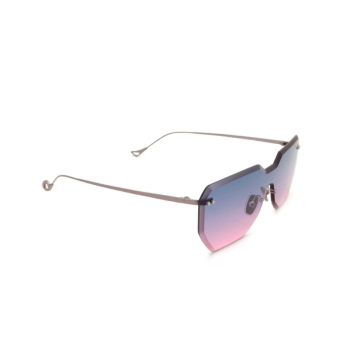 Eyepetizer® Mask Sunglasses: Brickel color Gunmetal C.3-20.