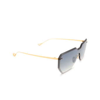 Eyepetizer® Mask Sunglasses: Brickel color Gold C.4-25F.