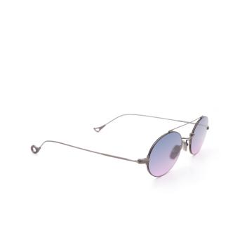 Eyepetizer® Oval Sunglasses: Celine color Gun Matt C.3-20.