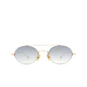 Eyepetizer® Oval Sunglasses: Celine color Matte Gold C.4-25F.