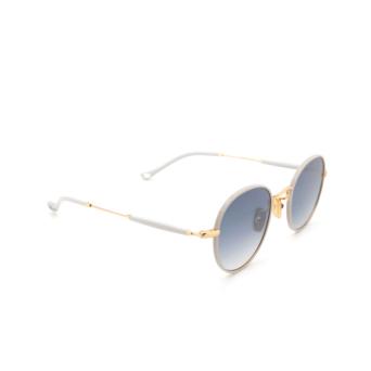 Eyepetizer® Round Sunglasses: Cinq color Ice Grey C.4-D-S-26F.