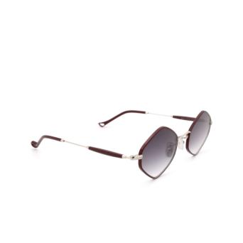 Eyepetizer® Irregular Sunglasses: Deux color Bordeaux C.1-C-P-27.
