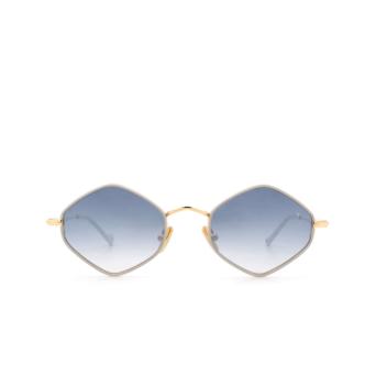 Eyepetizer® Irregular Sunglasses: Deux color Ice Grey C.4-D-S-26F.