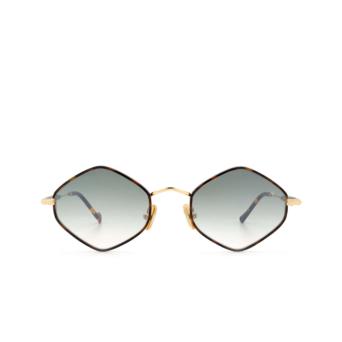 Eyepetizer® Irregular Sunglasses: Deux color Havana C.4-M-I-25F.