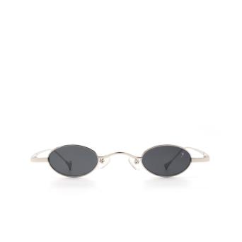 Eyepetizer® Oval Sunglasses: Duke color Silver C 1-7.