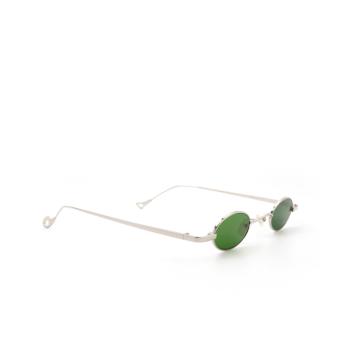 Eyepetizer® Oval Sunglasses: Duke color Silver C.1-1.