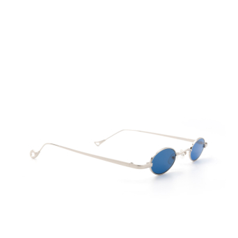 Eyepetizer® Oval Sunglasses: Duke color Silver C.1-2.