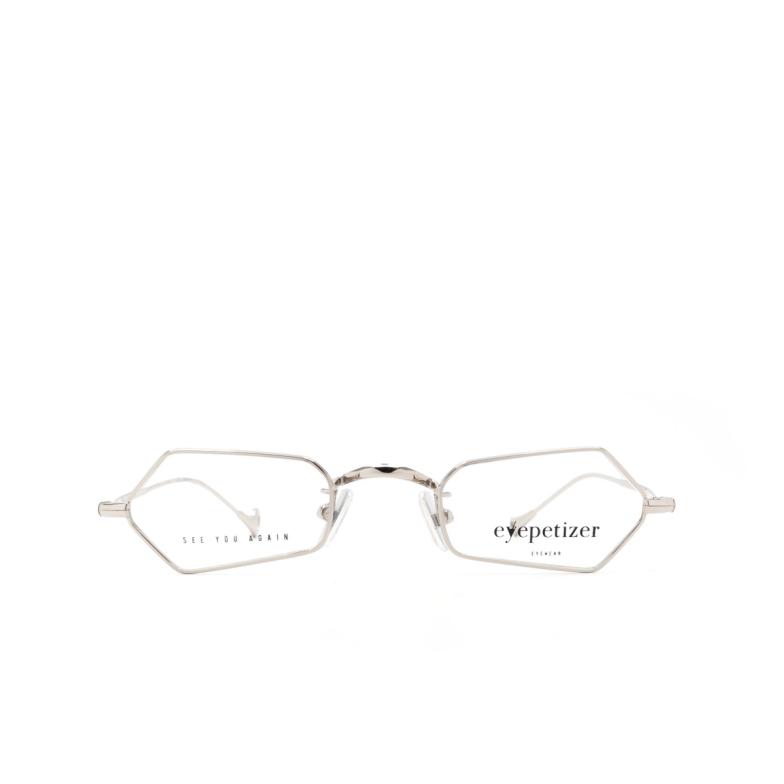Eyepetizer® Irregular Eyeglasses: Duval Optical color Silver C 1.