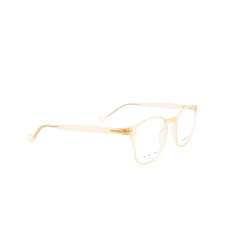 Eyepetizer® Square Eyeglasses: Francis color Matte Honey C B-b.