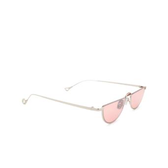 Eyepetizer® Irregular Sunglasses: Ginza color Silver C.1-28F.