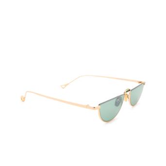 Eyepetizer® Irregular Sunglasses: Ginza color Gold C.4-29F.