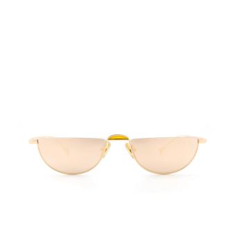 Eyepetizer® Irregular Sunglasses: Ginza color Gold C.4-8C.