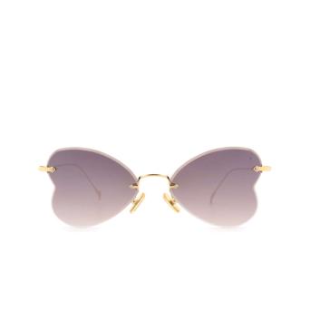 Eyepetizer® Irregular Sunglasses: Greta color Gold C.4-18F.