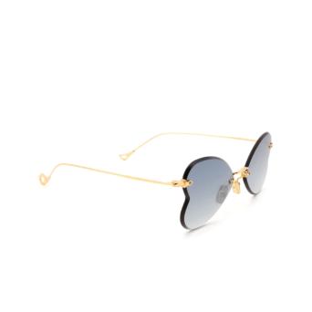Eyepetizer® Irregular Sunglasses: Greta color Gold C.4-25F.
