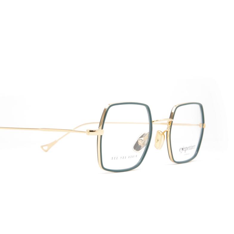 Eyepetizer® Square Eyeglasses: Hugo color Sage Green C 4-B.
