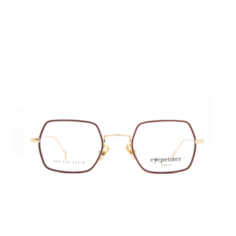 Eyepetizer® Square Eyeglasses: Hugo color Brown C 4-C.