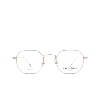 Eyepetizer® Irregular Eyeglasses: Ian color Matte Grey C 1-OP.
