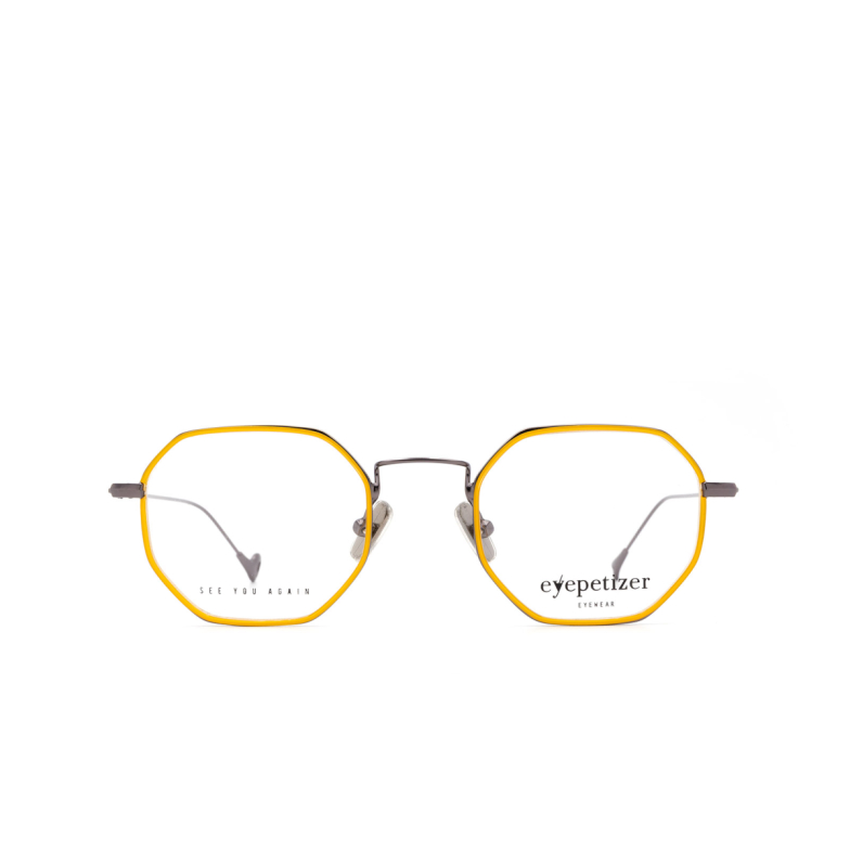 Eyepetizer® Irregular Eyeglasses: Mathieu color Saffron C 3-1.