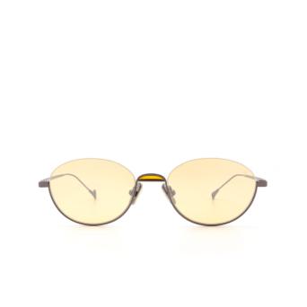 Eyepetizer® Oval Sunglasses: Narita color Gunmetal C.3-24F.