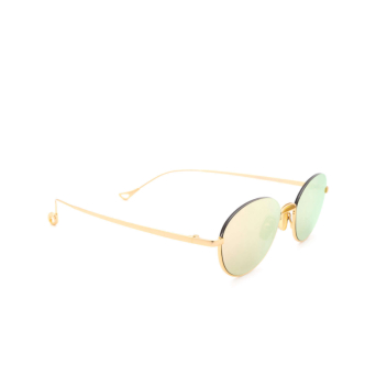 Eyepetizer® Oval Sunglasses: Narita color Gold C.4-8C.