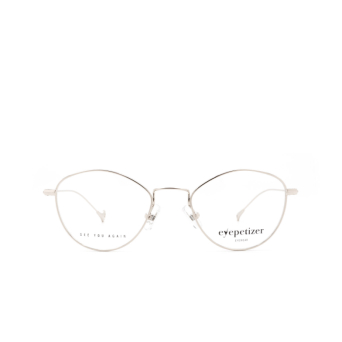 Eyepetizer® Cat-eye Eyeglasses: Nicole color Silver C.1.