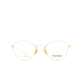 Eyepetizer® Cat-eye Eyeglasses: Nicole color Gold C.4.