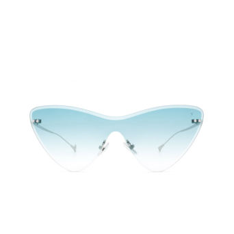 Eyepetizer® Mask Sunglasses: Ocean color Silver C.1-21.
