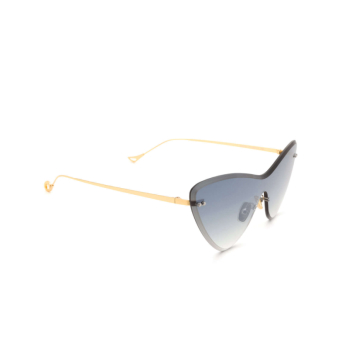 Eyepetizer® Mask Sunglasses: Ocean color Gold C.4-25F.