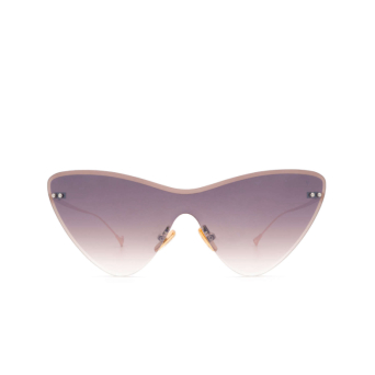 Eyepetizer® Mask Sunglasses: Ocean color Gold C.9-18F.