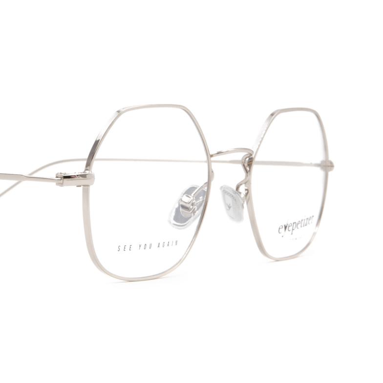 Eyepetizer® Irregular Eyeglasses: Paul color Silver C 1.