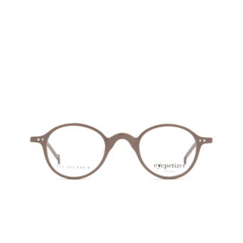 Eyepetizer® Round Eyeglasses: Plaza color Grey C N-3.
