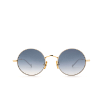 Eyepetizer® Round Sunglasses: Quatre color Ice Grey C.4-D-S-26F.