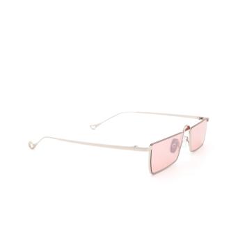 Eyepetizer® Irregular Sunglasses: Shibuya color Silver C.1-28F.