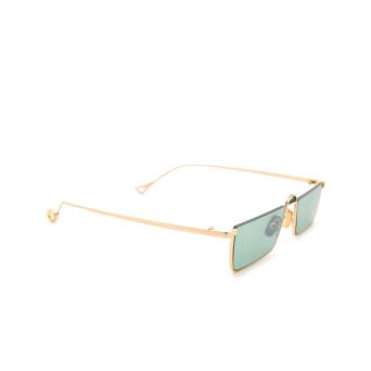 Eyepetizer® Irregular Sunglasses: Shibuya color Gold C.4-29F.