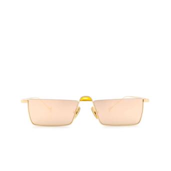 Eyepetizer® Irregular Sunglasses: Shibuya color Gold C.4-8C.