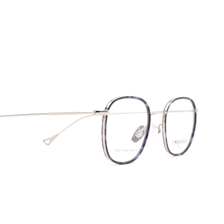 Eyepetizer® Square Eyeglasses: Thierry color Blue Havana C 1-K.