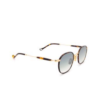 Eyepetizer® Square Sunglasses: Trois color Havana C.4-M-I-25F.