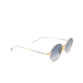 Eyepetizer® Round Sunglasses: Un color Ice Grey C.4-D-S-26F.