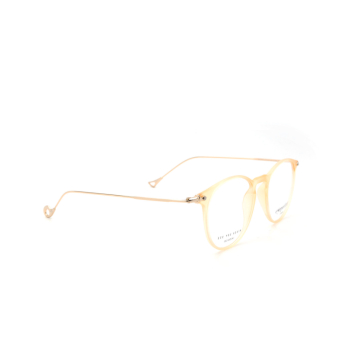 Eyepetizer® Round Eyeglasses: Wilson Optical color Matte Honey C B-4.